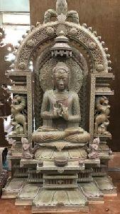 Swami Mahavir Jain Stone Statue