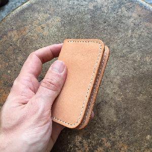 Finished Leather Card Holder