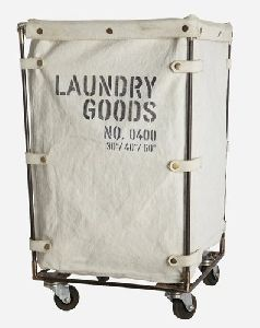 Leather Laundry Bags