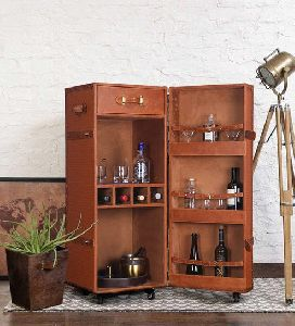 Single Door Bar Cabinet