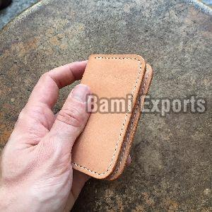 Finished Leather Card Holder