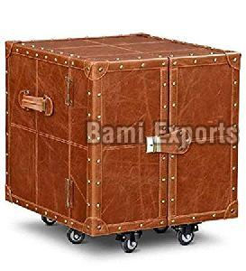 Leather Bar Trunk