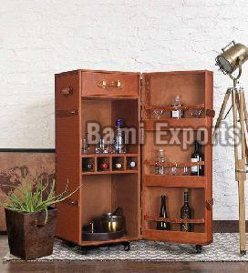 Single Door Bar Cabinet