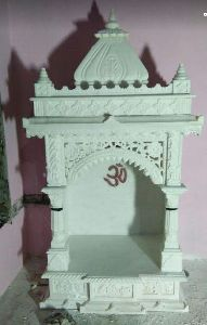 white marbal temple