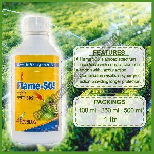 Flame 505 Chlorpyriphos 50 + Cypermethrin 5 EC