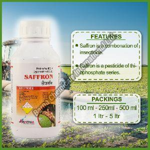 Saffron Profenofos 40 + Cypermethrin 4 EC
