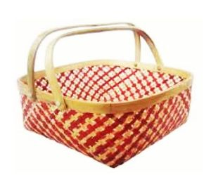 Bamboo Basket Without Handle