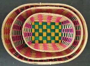 Bamboo Oval Tray
