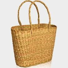 Bamboo Shopping Basket