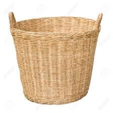 Bamboo Clothes Basket