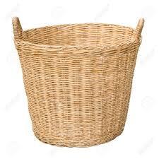 Bamboo Clothes Basket