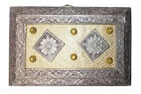 Meenakari Oxidized Dry Fruit Box