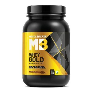 MuscleBlaze Whey Gold Protein 1kg