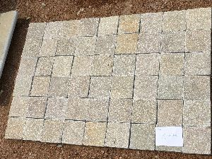 Yellow Limestone Cobbles