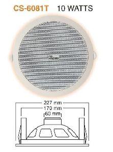 CSD 6081T PA Ceiling Speaker