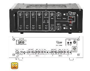 HTZA-1200 Two Zone PA Amplifier