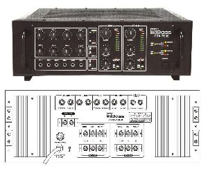 HTZA-7000 Two Zone PA Amplifier