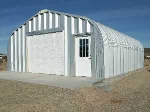Prefabricated Steel Building Shed