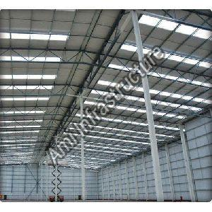 Steel Industrial Roofing Shed