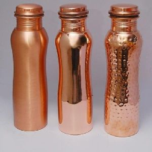 Curve Shape Copper Bottle