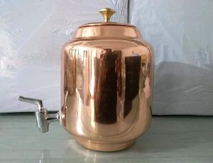 Plain Copper Water Dispenser
