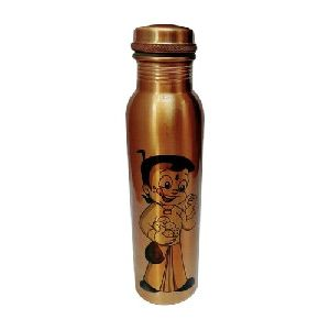 Printed Chota Bheem Copper Bottle