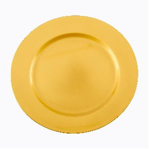 Yellow Charger Plate