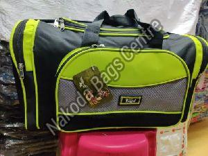 Black & Green Travel Bag