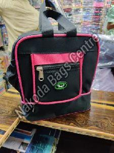 Black & Pink Lunch Bag