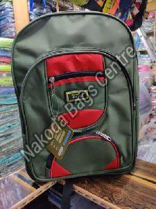 Black & Red School Bag