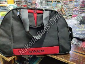 Black & Red Travel Bag