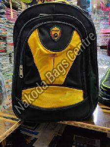 Black & Yellow School Bag