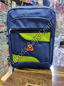 Blue & Green School Bag