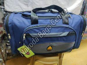 Blue & Grey Travel Bag