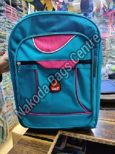 Blue & Pink School Bag