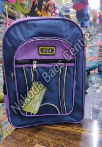 Blue & Purple School Bag