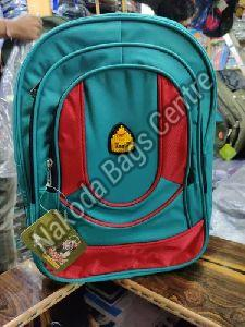 Blue & Red School Bag