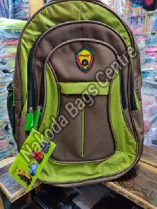 Green & Grey College Bag