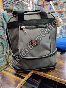 Grey & Black Lunch Bag