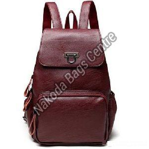 Synthetic Leather College Bag