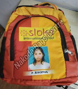 Multicolored School Bag