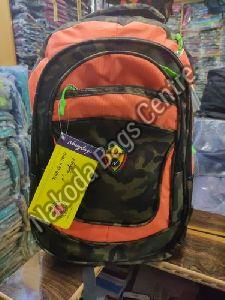 Orange & Black School Bag