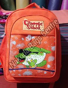 Orange School Bag