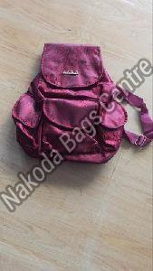 Purple College Bag
