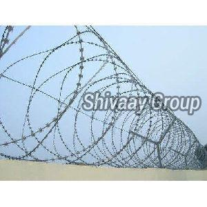 Galvanised Concertina Wire