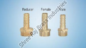 Brass M/F Reducer Nipples