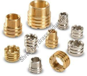 Brass Male-Female Threaded Inserts