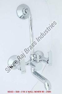 Solid - 610 - 2 in 1 Wall Mixer