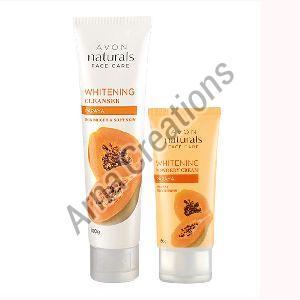 Avon Naturals Papaya Whitening Cleanser & Whitening Cream