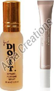 Oriflame Sweden Optimals Even Out Brightening Eye Cream with Just Doit Perfume Combo